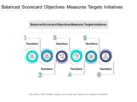 Balanced Scorecard Objectives Measures Targets Initiatives Ppt PowerPoint Presentation Ideas Guide Cpb Pdf