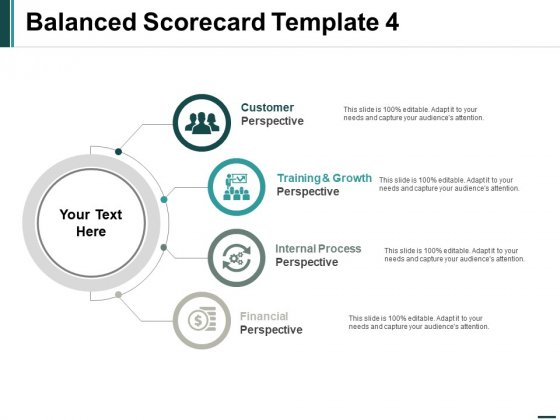 Balanced Scorecard Perspective Ppt PowerPoint Presentation Portfolio Show