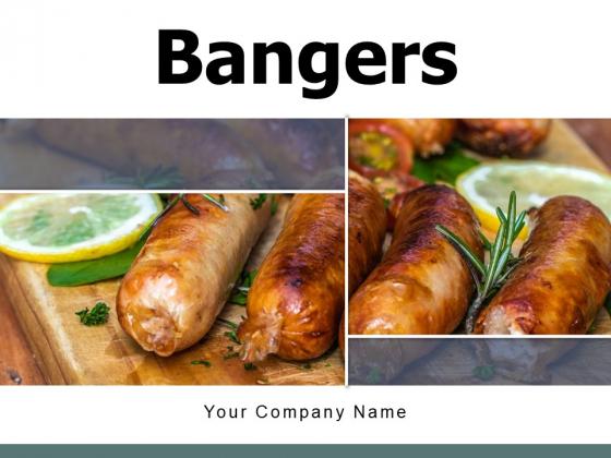 Bangers Vegetables Griller Ppt PowerPoint Presentation Complete Deck