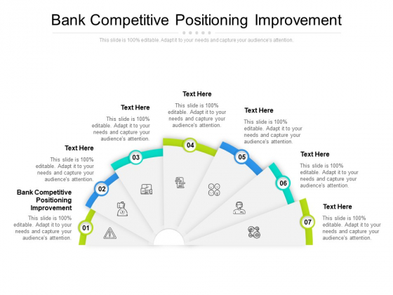Bank Competitive Positioning Improvement Ppt PowerPoint Presentation Portfolio Inspiration Cpb