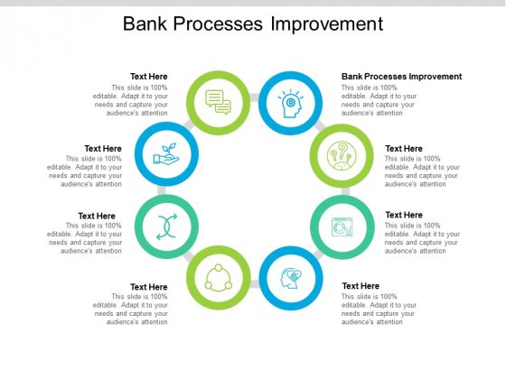 Bank Processes Improvement Ppt PowerPoint Presentation Inspiration Information Cpb Pdf