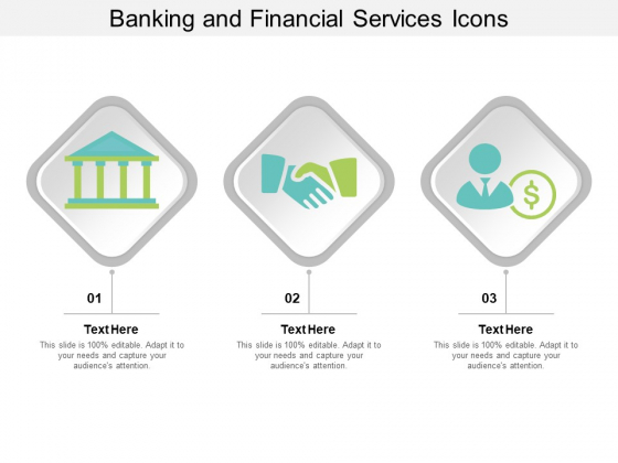 Banking And Financial Services Icons Ppt Powerpoint Presentation