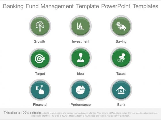 Banking Fund Management Template Powerpoint Templates