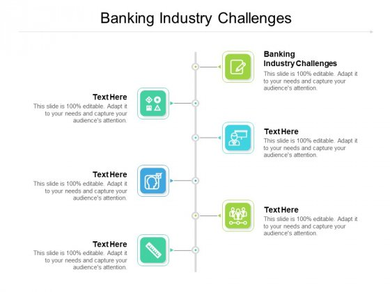 Banking Industry Challenges Ppt PowerPoint Presentation Professional Inspiration Cpb Pdf