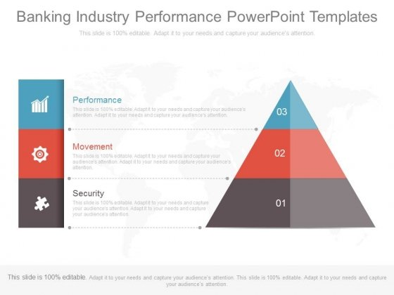 Banking Industry Performance Powerpoint Templates