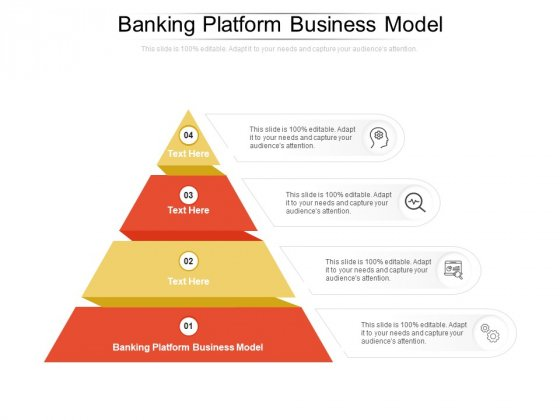 Banking Platform Business Model Ppt PowerPoint Presentation File Microsoft Cpb