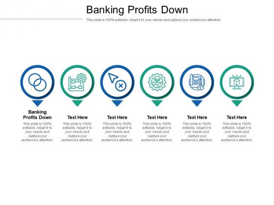 Banking Profits Down Ppt PowerPoint Presentation Ideas Designs Download Cpb Pdf