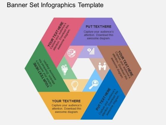 Banner Set Infographics Template Powerpoint Template