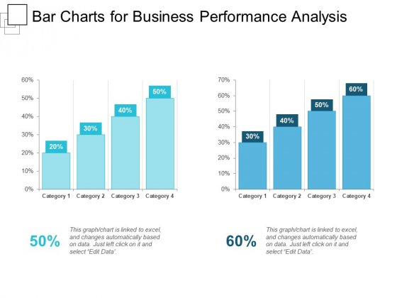 Bar Charts For Business Performance Analysis Ppt PowerPoint Presentation Show Slideshow