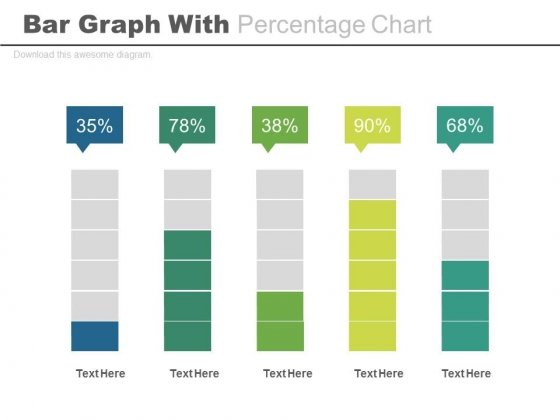 Bar Graph For Statistical Analysis Powerpoint Slides