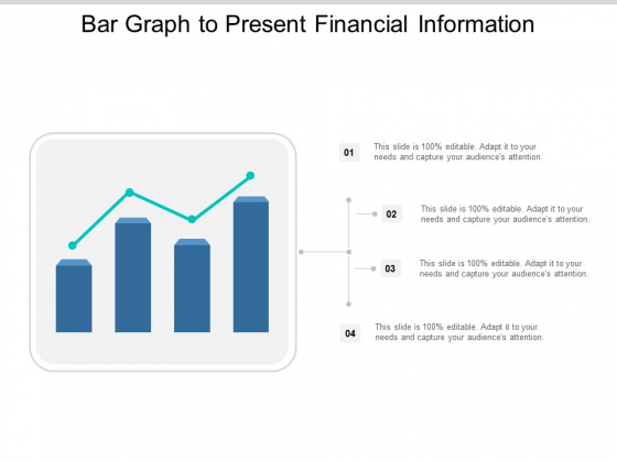 Bar Graph To Present Financial Information Ppt PowerPoint Presentation Show Tips