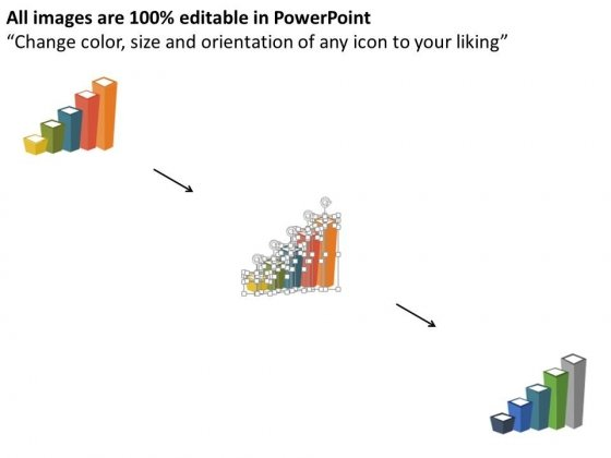 Bar_Graph_With_Financial_Ratio_And_Icons_Powerpoint_Template_2