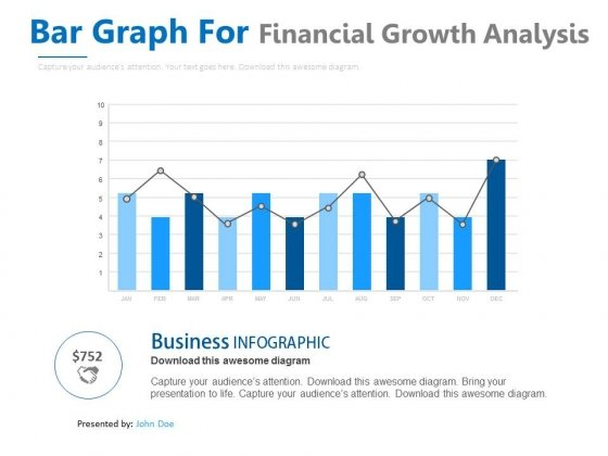 Bar Graph With Line Chart For Analysis Powerpoint Slides