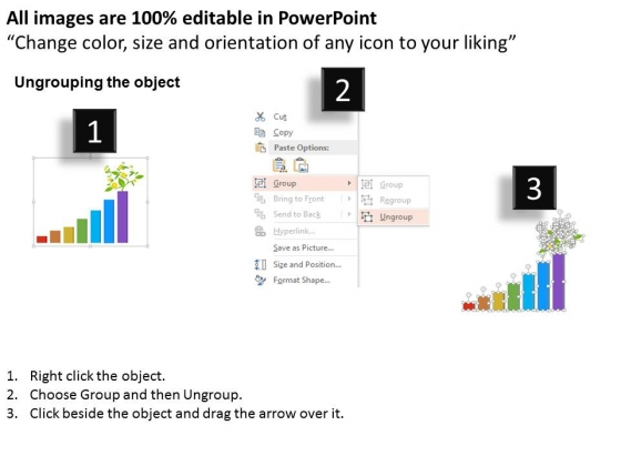 Bar_Graph_With_Plant_For_Growth_Powerpoint_Template_2