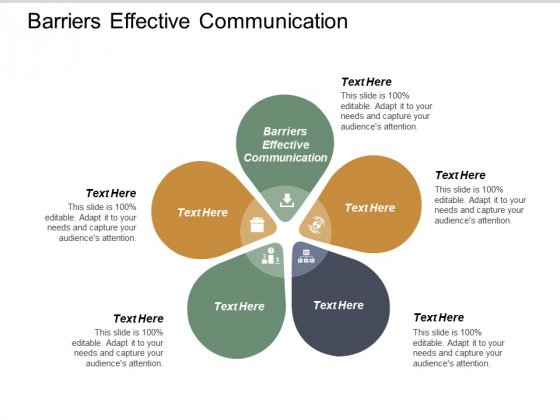 Barriers Effective Communication Ppt PowerPoint Presentation Infographic Template Shapes Cpb