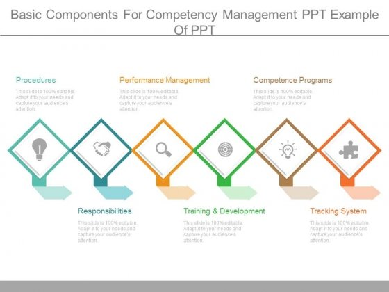 Basic Components For Competency Management Ppt Example Of Ppt