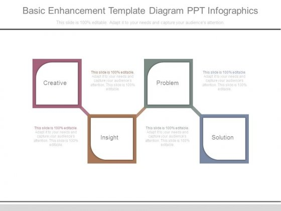 Basic Enhancement Template Diagram Ppt Infographics