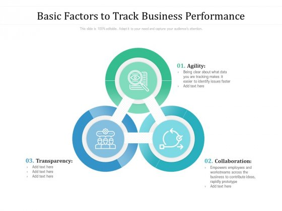 Basic Factors To Track Business Performance Ppt PowerPoint Presentation File Smartart PDF