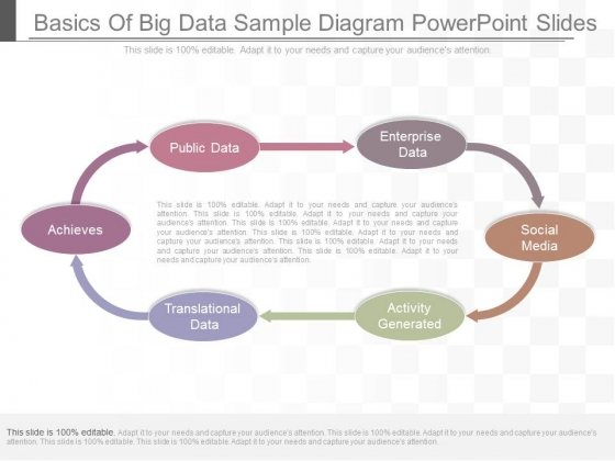 Basics Of Big Data Sample Diagram Powerpoint Slides