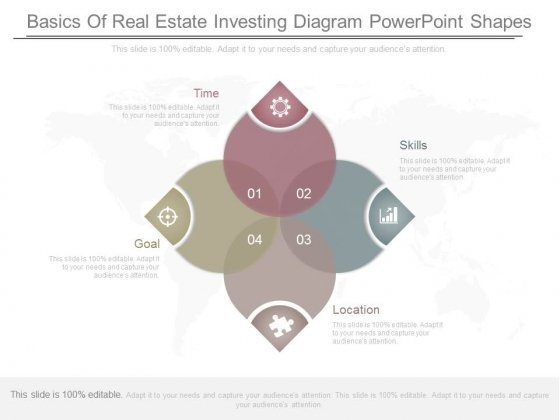 Basics Of Real Estate Investing Diagram Powerpoint Shapes