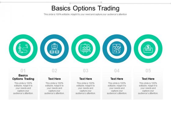 Basics Options Trading Ppt PowerPoint Presentation Model Portrait Cpb Pdf
