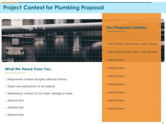 Bathroom_Fixture_Proposal_Ppt_PowerPoint_Presentation_Complete_Deck_With_Slides_Slide_4