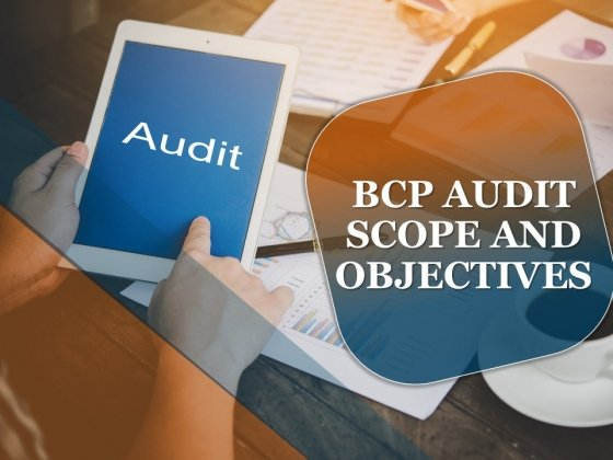 Bcp Audit Scope And Objectives Ppt PowerPoint Presentation Complete Deck With Slides