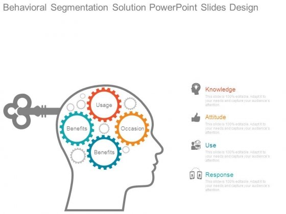 Behavioral Segmentation Solution Powerpoint Slides Design