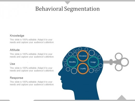 Behavioral Segmentation Template 1 Ppt PowerPoint Presentation Pictures Example