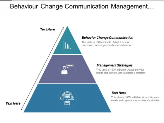 Behaviour Change Communication Management Strategies Ppt PowerPoint Presentation Professional Outfit