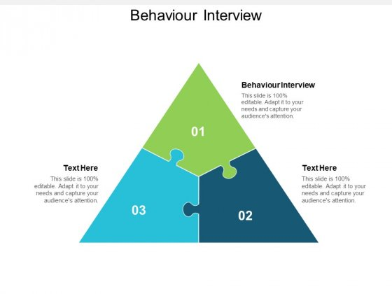 Behaviour Interview Ppt PowerPoint Presentation Infographics Icon Cpb