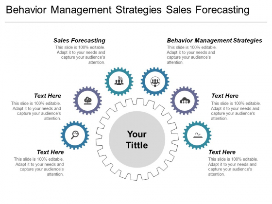 Behaviour Management Strategies Sales Forecasting Ppt PowerPoint Presentation Professional Themes