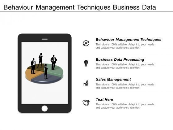 Behaviour Management Techniques Business Data Processing Sales Management Ppt PowerPoint Presentation Inspiration Template