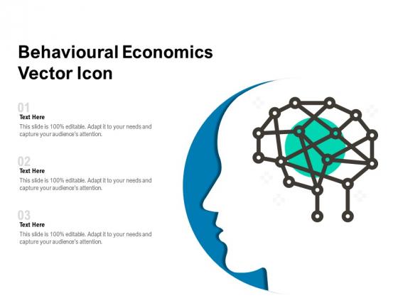 Behavioural Economics Vector Icon Ppt PowerPoint Presentation Diagram Templates