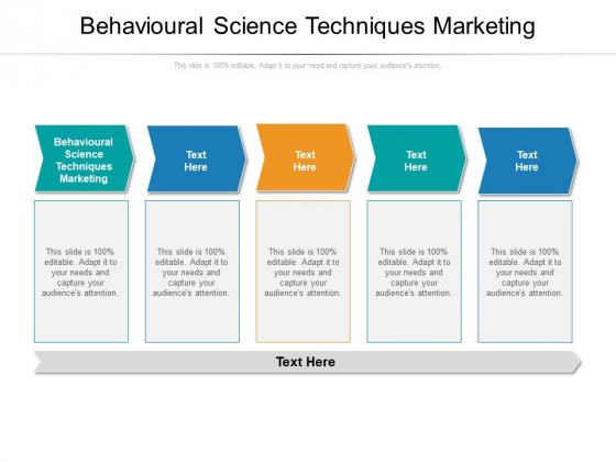 Behavioural Science Techniques Marketing Ppt PowerPoint Presentation Pictures Outfit Cpb Pdf