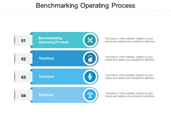 Benchmarking Operating Process Ppt PowerPoint Presentation Ideas Graphics Template Cpb