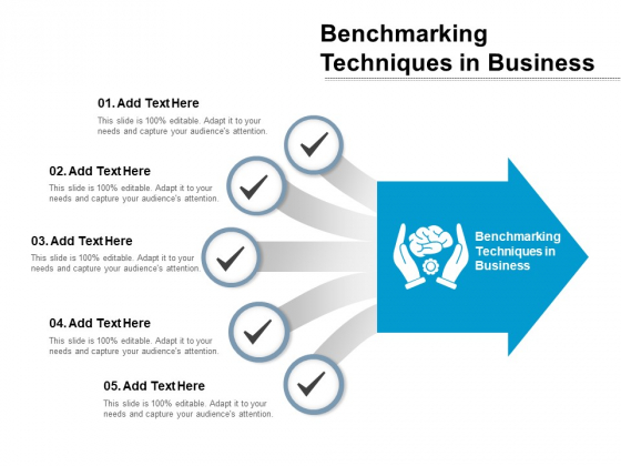 Benchmarking Techniques In Business Ppt Powerpoint Presentation Gallery Graphics