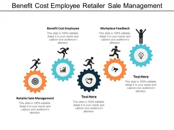 Benefit Cost Employee Retailer Sale Management Workplace Feedback Ppt PowerPoint Presentation Icon Diagrams