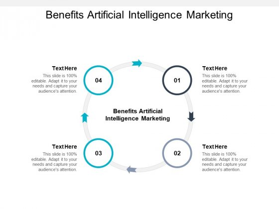 Benefits Artificial Intelligence Marketing Ppt PowerPoint Presentation Pictures Slide Cpb