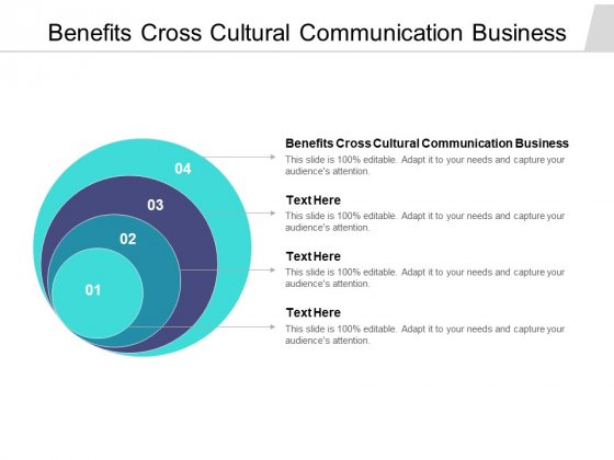 Benefits Cross Cultural Communication Business Ppt PowerPoint Presentation Show Visual Aids Cpb Pdf
