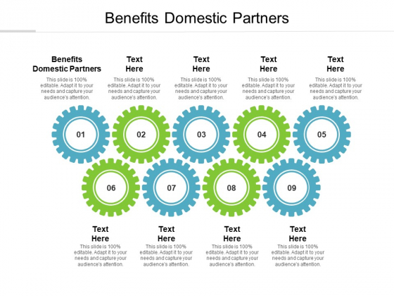 Benefits Domestic Partners Ppt PowerPoint Presentation Portfolio Guidelines Cpb