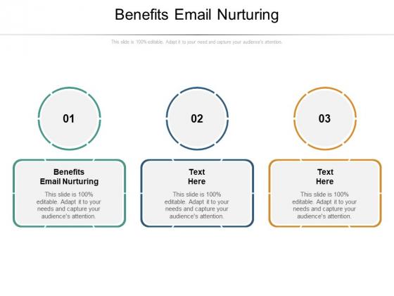 Benefits Email Nurturing Ppt PowerPoint Presentation File Portrait Cpb Pdf