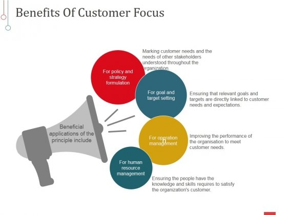Benefits Of Customer Focus Ppt PowerPoint Presentation Infographics Styles