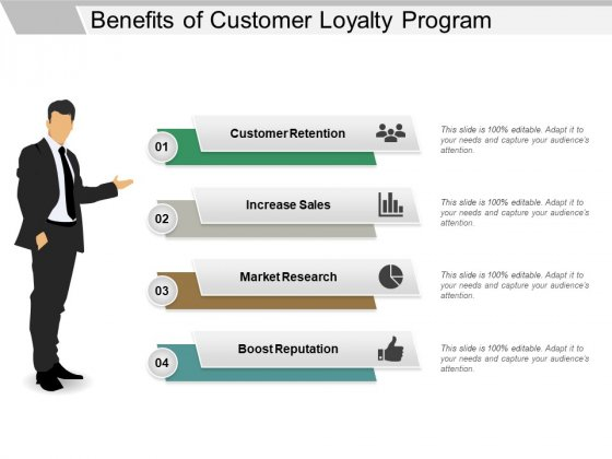 Benefits Of Customer Loyalty Program Ppt PowerPoint Presentation Inspiration Slides