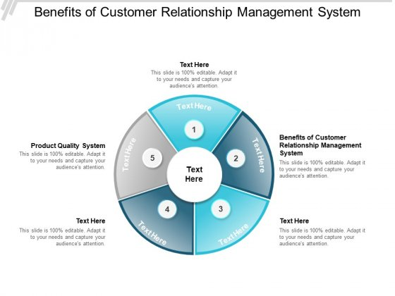 Benefits Of Customer Relationship Management System Product Quality System Ppt PowerPoint Presentation Pictures Graphics Design