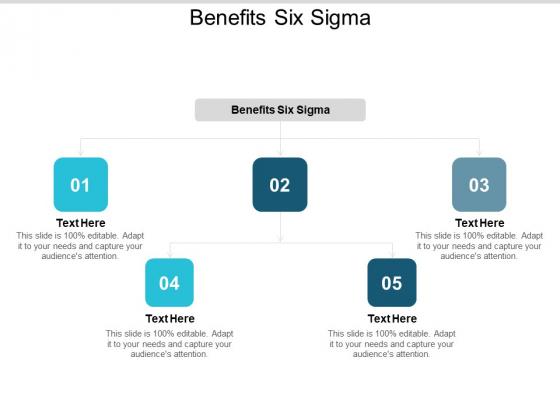 Benefits Six Sigma Ppt PowerPoint Presentation Gallery Graphics Tutorials Cpb