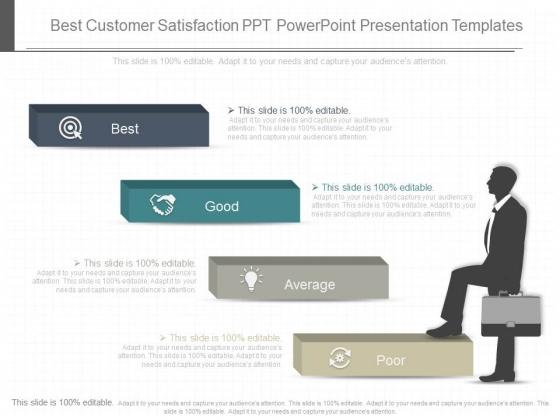 Best Customer Satisfaction Ppt Powerpoint Presentation Templates
