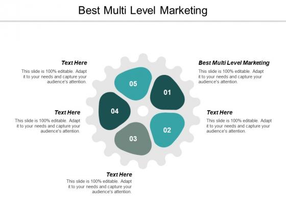 Best Multi Level Marketing Ppt PowerPoint Presentation Model Slide Portrait Cpb