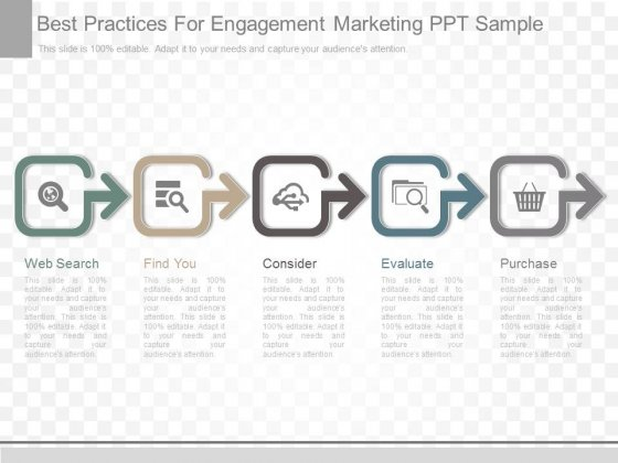 Best Practices For Engagement Marketing Ppt Sample