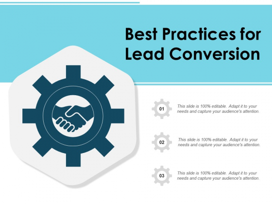Best Practices For Lead Conversion Ppt PowerPoint Presentation Summary Graphics